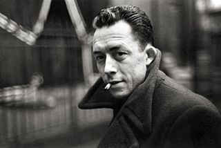Albert Camus par Henri Cartier-Bresson 1947